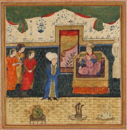 Iskandar and Queen Qaydafafront
