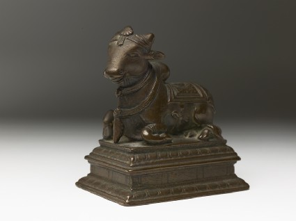 Figure of Nandi, the bull of Shivaoblique