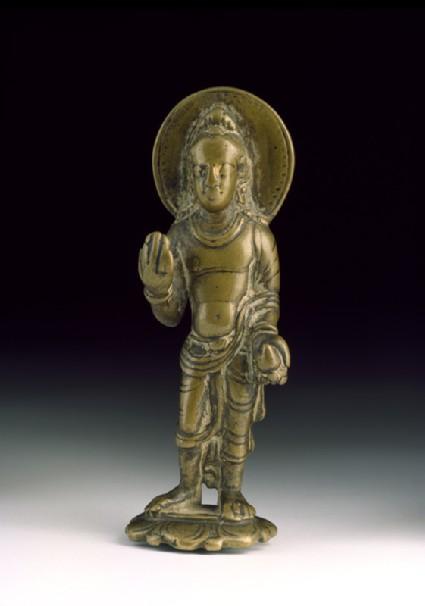 Standing figure of Maitreya, the future Buddhafront
