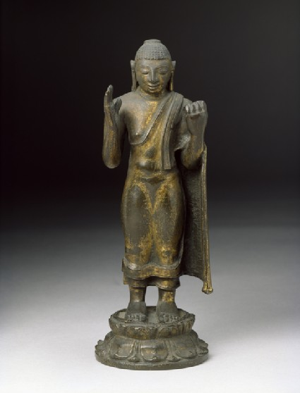 Standing figure of the Buddhafront