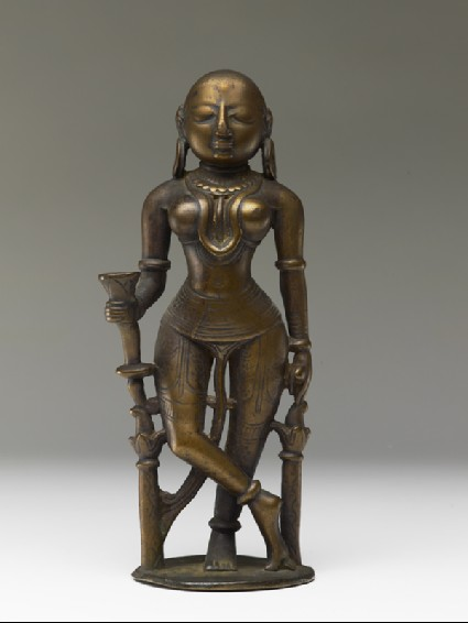 Female attendant figurefront
