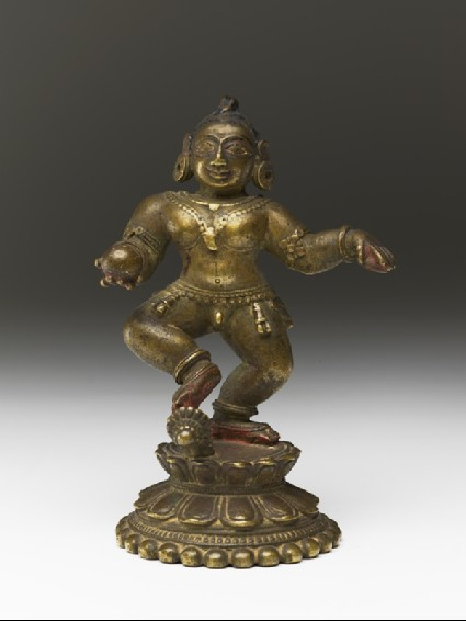 Dancing figure of Balakrishnafront