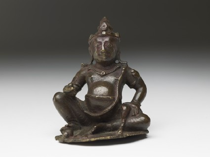 Figure of Kubera, god of wealthfront