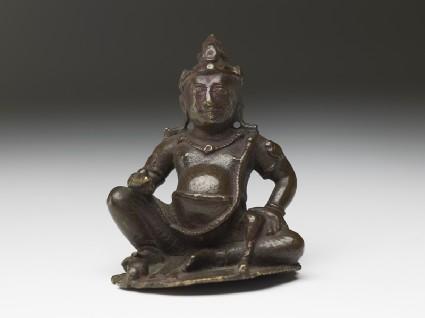 Figure of Kubera, god of wealthfront