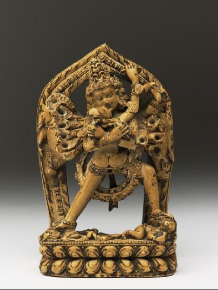 Figure of Samvara and Vajravarahifront