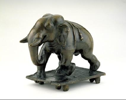 Toy elephantside