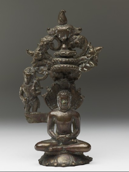 Figure of the Tirthankara Parshvanathafront