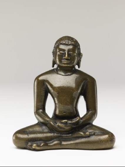 Figure of a Tirthankara, or Jain saviourfront