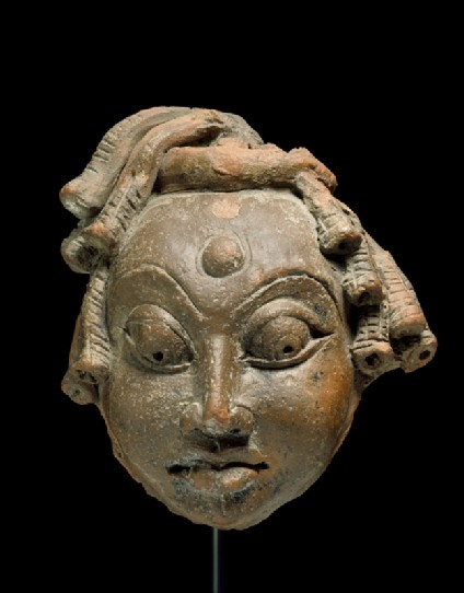 Head of Shiva as an asceticfront