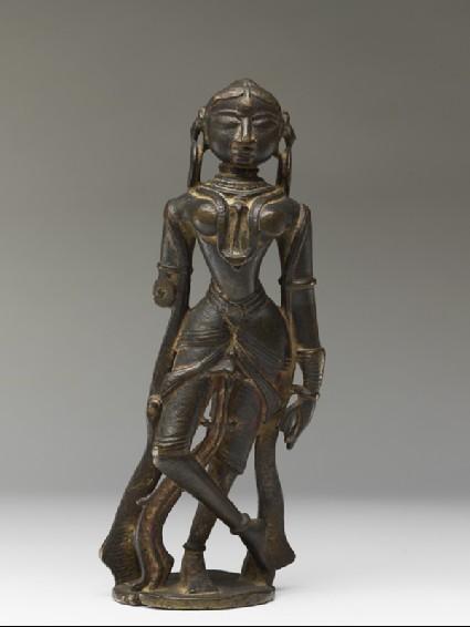 Female attendant figurefront