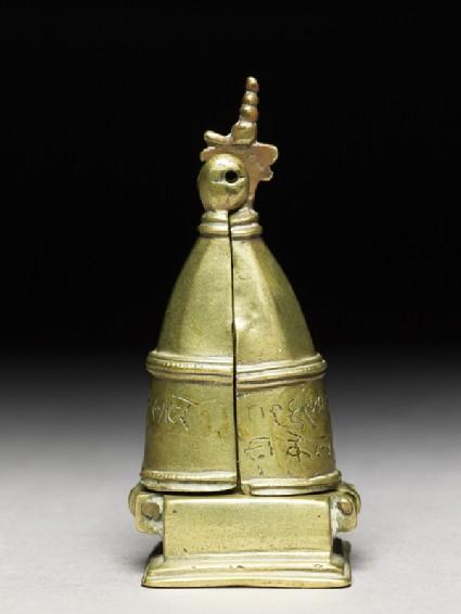 Portable shrine of the Tirthankara Parshvanathafront