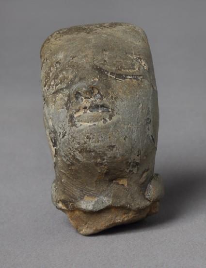 Head of a male figurefront