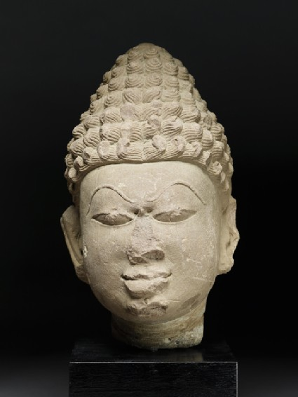 Head of a Tirthankara, or Jain saviourfront