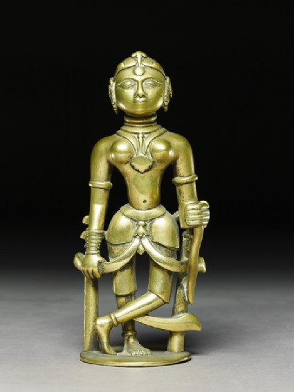 Incense holder in the form of a womanfront