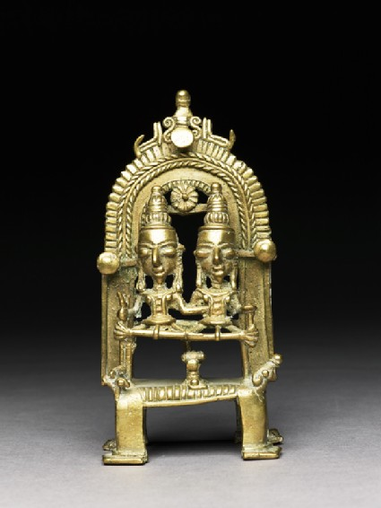 Figure of Shiva and Parvatifront