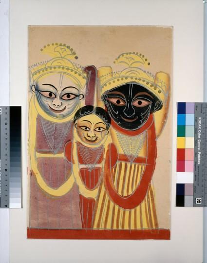 The Jagannatha Trio at Purifront