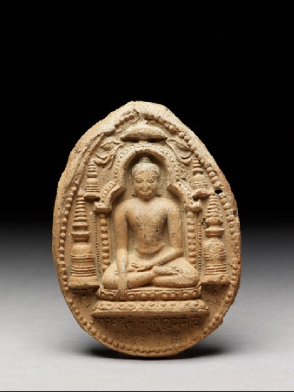 Votive plaque of the Buddhafront