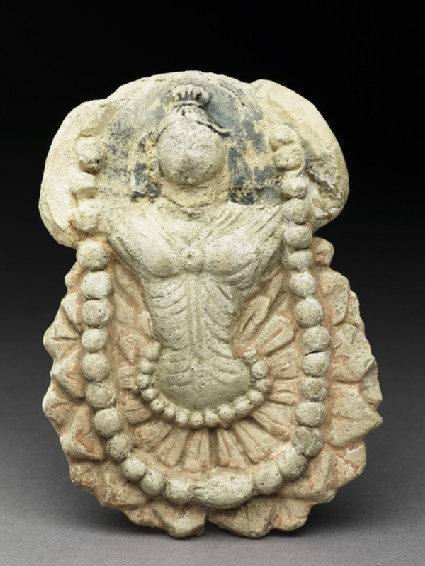 Fragmentary relief of a bodhisattvafront