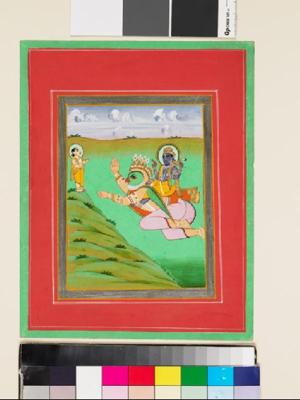 Vishnu on Garudafront