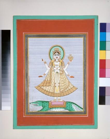 The goddess Gangafront