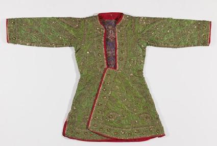 Boy's coat with floral patternfront
