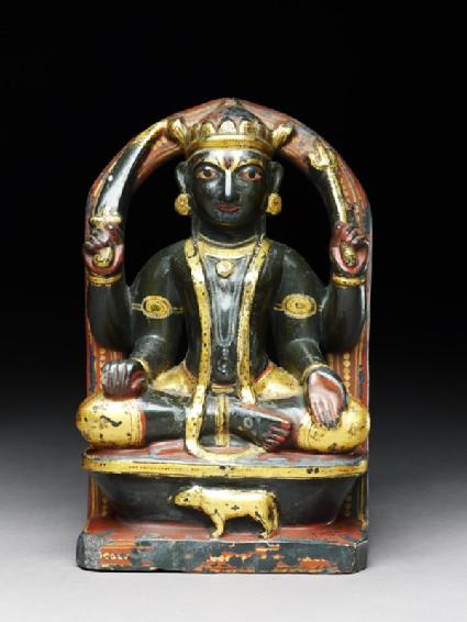 Soapstone figure of Shani, or Saturnfront