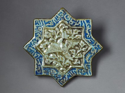 Star tile with phoenixfront