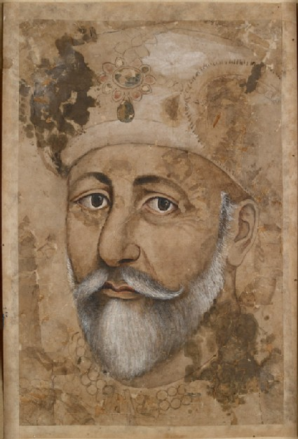 The emperor Bahadur Shahfront