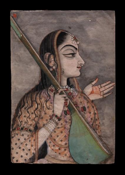 A lady singingfront