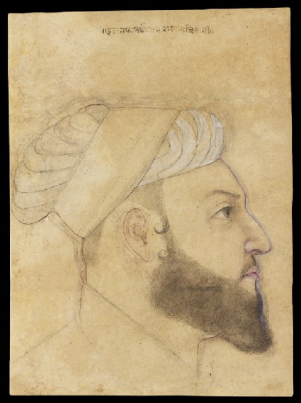 Head of the courtier Iltifat Khanfront
