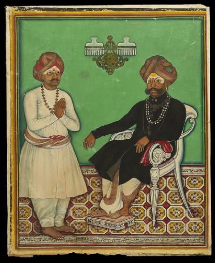 Maharaja Krishnaraja Wodeyar IIIfront