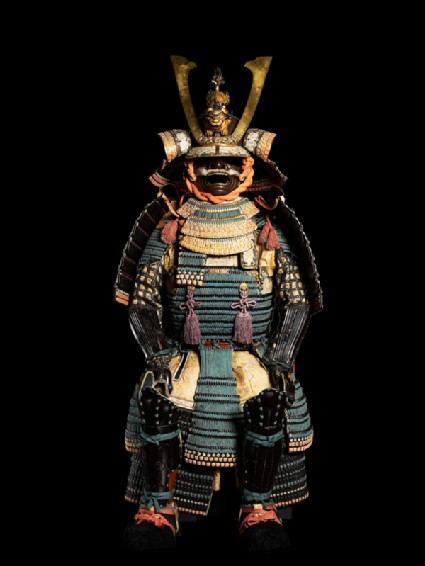 Ceremonial suit of armour for a samuraifront