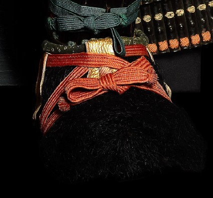 Boot from a samurai's ceremonial suit of armouroblique, right boot