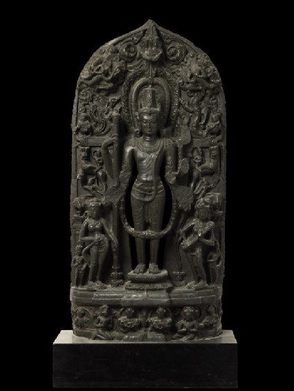 Vishnu with attendantsfront