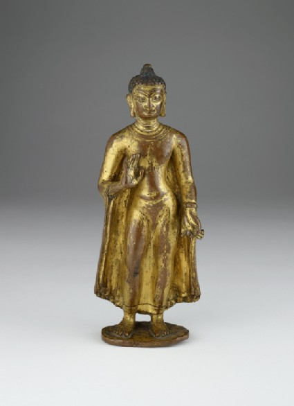 Figure of the Buddha Sakyamunifront