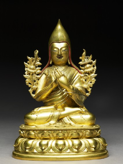 Figure of Tsongkhapafront