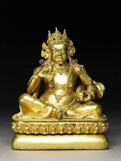 Seated figure of Kuberafront