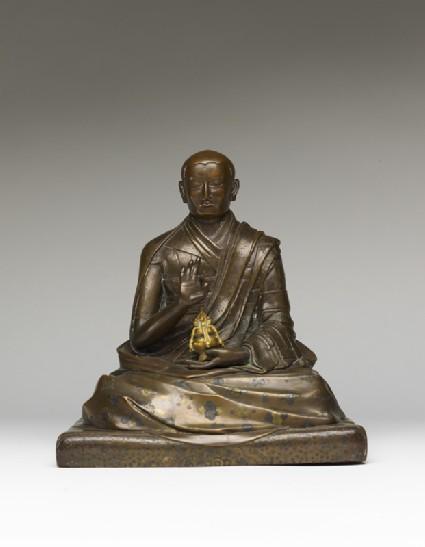 Portrait of a lama, possibly Karmapafront