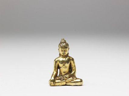 Gold figure of the Buddhafront