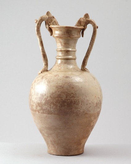 Vessel with handles in the form of dragonsfront