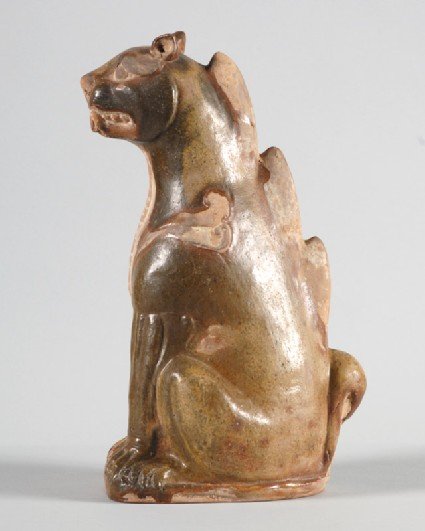 Figure of a seated chimerafront