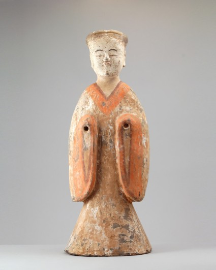Figure of a female attendantfront