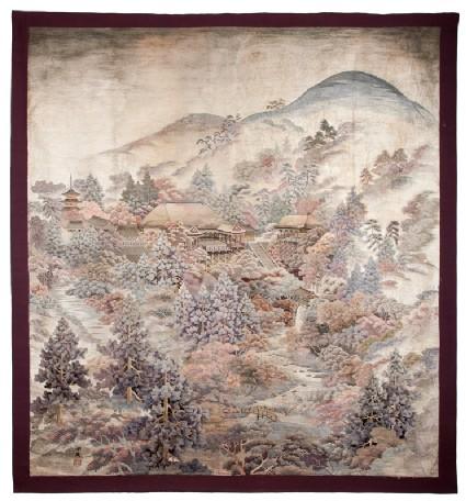 View of Kiyomizu Templefront, Cat. No. 28
