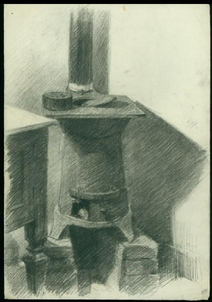 Briquet stovefront