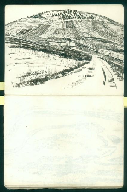 Sketchbook of southern Gansu landscapesfront