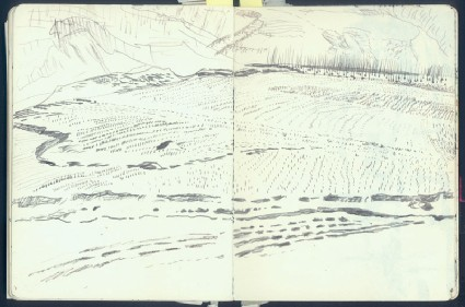 Sketchbook of Shaanxi landscapesfront